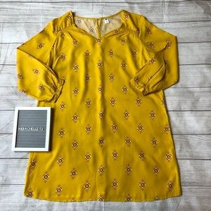 Old Navy Womens XL Yellow Dress